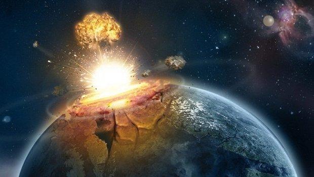 Resultado de imagem para imagem terra explodindo
